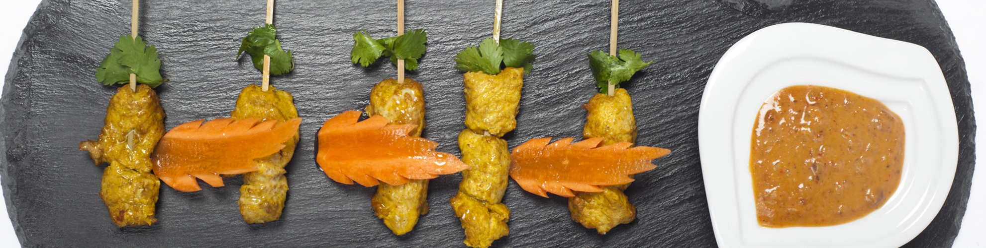 Chicken Satay Canape